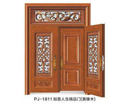 PJ-1811如意人生精品门(黄橡木)