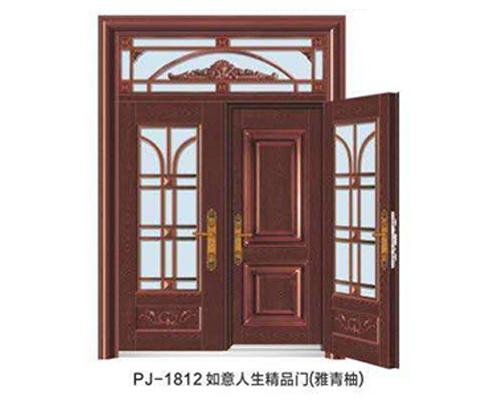 PJ-1812如意人生精品门(雅青柚)